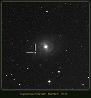 2012aw - Supernova in M95